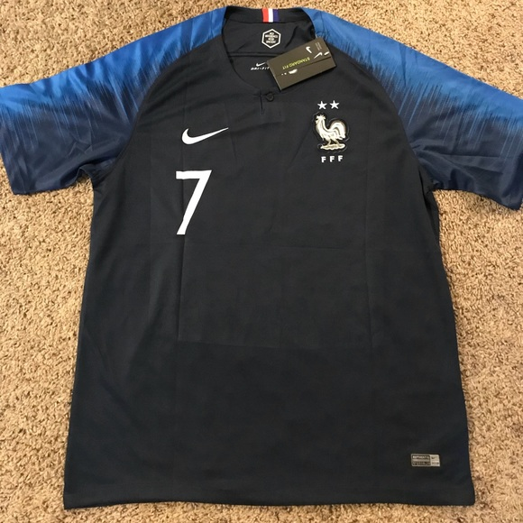 Griezmann France National Team Jersey 2018 fd9509612